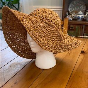 Scala Pronto Floppy Straw Sun Hat, BNWOT